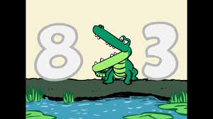 Number Gators (Greater Than, Less Than Symbols Song) - YouTube